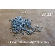 A133.1 - Clous musique 12mm (prix au gramme)