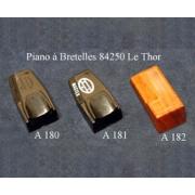 A180 - Registre (36 x 19 mm)