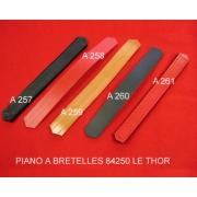 A258 - Lanière soufflet en cuir diatonique Rouge