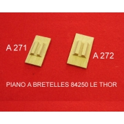 A271 - Soupape chant bois  2 voix (16x32mm)