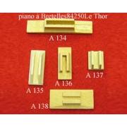 A134 - Soupape chant bois  4 voix (12x60mm)