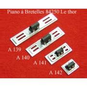 A140 - Soupape chant alu 3 voix (12,3x49,5mm)