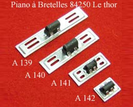 A141- Soupape chant alu 2 voix (12,3x30,5mm)