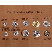 A32 - Rivet à pression Femelle 2mm