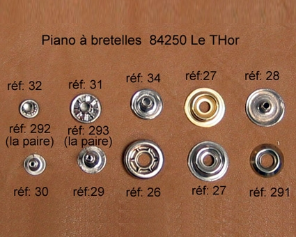 A28 - Rivet à pression Mâle 2mm