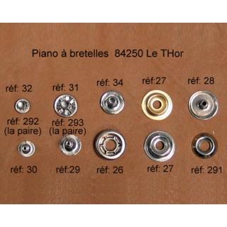 A26 - Rivet à pression Femelle 10mm