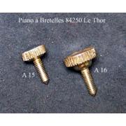 A15 - Vis de capot L.16mm Diam. 3mm