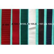 A105.6 - Bandelette de soufflet Blanc strié 24mm