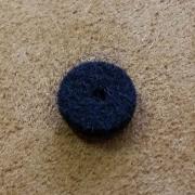 A84 - Feutre de bouton basse Noir