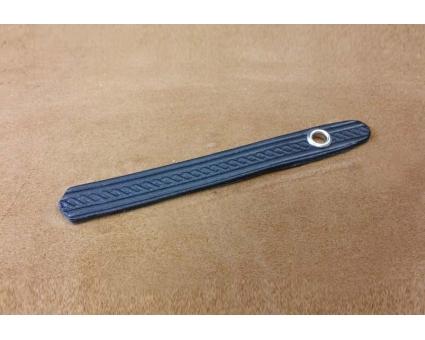 A101.1 - Attache soufflet diatonique pression Noir Cuir