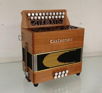 Accordéon CATAGNARI modèle Handry Piano à Bretelles