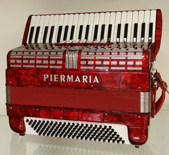 Accordéon Piermaria Piano le Piano à Bretelles