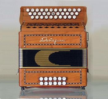 Accordéon neuf Castagnari Benny Le Piano à Bretelles