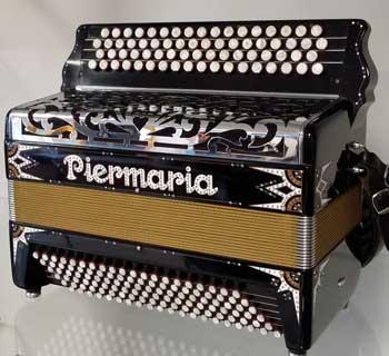 Accordéon d'occasion Piermaria rétro Super Musette - Le piano à bretelles