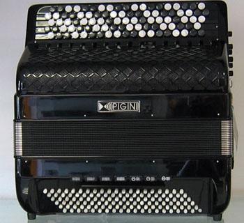 Accordéon neuf Pigini Master Deluxe le Piano à Bretelles