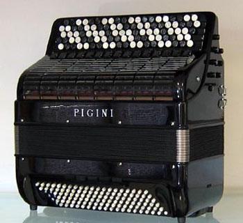 Accordéon neuf Pigini Syntesis Le Piano à Bretelles