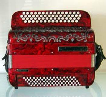 Location accordéon modèle Ballone Burini