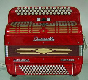 Location accordéon modèle Crucianelli
