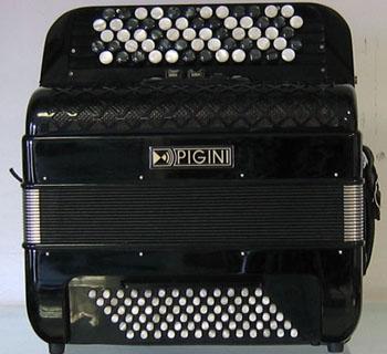 Location accordéon modèle Pigini