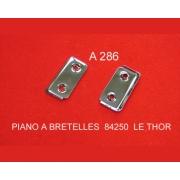 A286 - Plaque de fixation courroie type diatonique