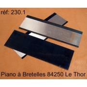 A230.1 - Plaque acier spécial musique