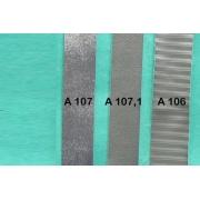 A106 - Bandelette de soufflet Argent strié