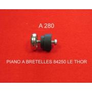 A280 - Pied chromé pour Crucianelli