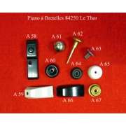 A63 - Tirette de registre diatonique