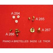 A266 - Rondelle laiton pour axe diatonique