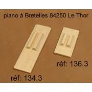 A138 - Soupape chant bois 2 voix (17x38mm)