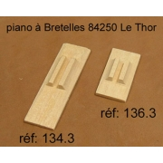 A134.3 - Soupape chant bois 4 voix (50x16mm)