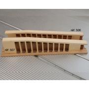 A506 - Sommier diatonique (pas 19 mm 11 trous)