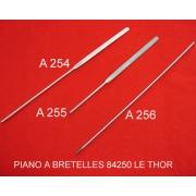 A255 - Touche harmonie aluminium