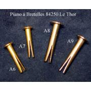 A8 - Rivet à éclatement L22mm diam.3,5mm
