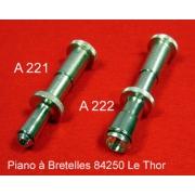A221 - Clé à bouton basse diamètre standard français