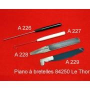 A222 - Clé à bouton chant diamètre standard français