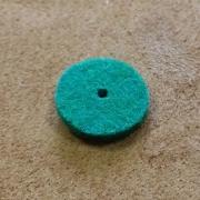 A82 - Feutre de bouton chant Vert