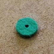A83 - Feutre de bouton basse Vert