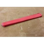 A261 - Lanière soufflet en cuir et velours diatonique Rouge